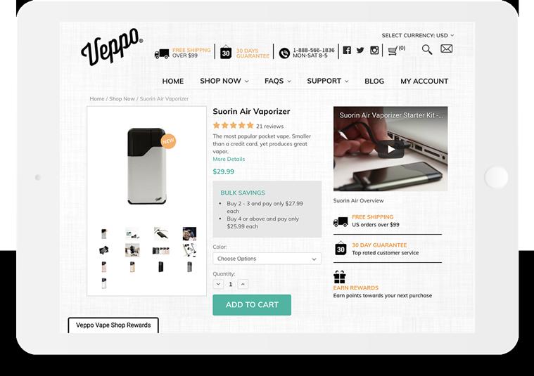 Bigcommerce Veppo Product