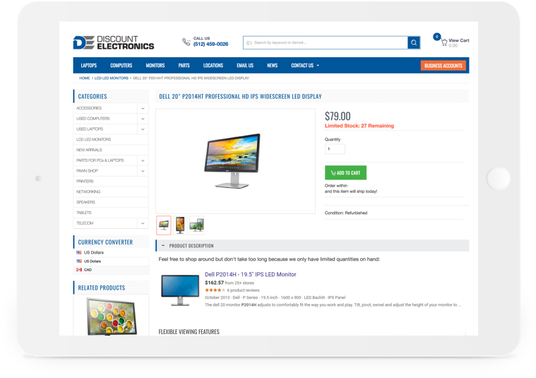 Discount Electronics Quote